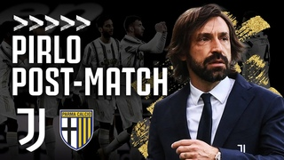 🎙 PIRLO POST-MATCH | Juventus 3-1 Parma | Serie A