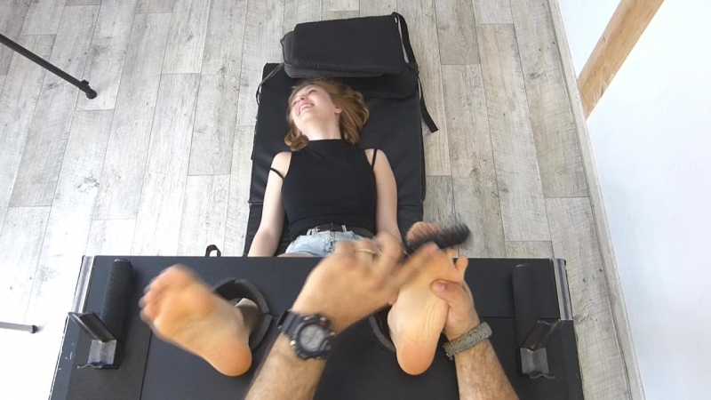 FrenchTickling The 18 Years Old Beauty Didnt Imagined Her Feet Were So Ticklish