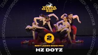 VOLGA CHAMP XIII | BEST LADIES SHOW PRO | 2nd place | Hz Dotz
