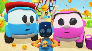 Leo the Truck full episode cartoon for kids & car cartoons for toddlers – Funny games with toys.