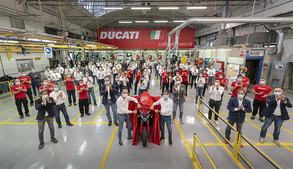 Ducati Multistrada V4 получит адаптивный круиз-контроль