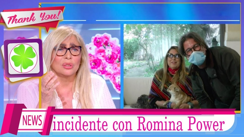Incidente di Romina Power a Domenica in Mara Venier parla l'operatore cade