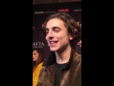 Timothée Chalamet on Frank Ocean seeing Call Me By Your Name