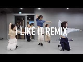 1million dance studio cardi b i like it (dillon francis remix) / ara cho choreography