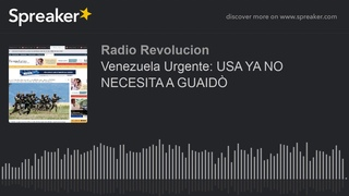 Venezuela Urgente: USA YA NO NECESITA A GUAIDÒ