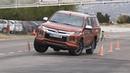 Mitsubishi L200 2019 Maniobra de esquiva moose test