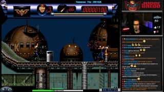 Judge Dredd прохождение (W) | Игра на (SEGA Genesis, Mega Drive, SMD) Probe 1995 Стрим RUS
