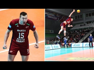 Dmitri Volkov / Дмитрий Волков | Best Volleyball Actions / Men's Volleyball Super League | Конкурс