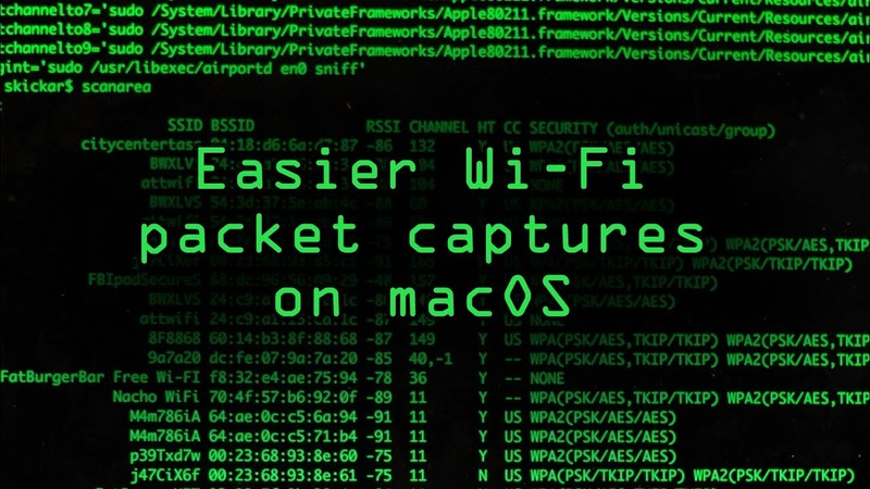 Set Up Aliasing in Your Mac's Bash Profile for Easier Wi Fi Packet Captures Tutorial
