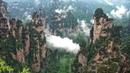 Avatar Mountain Wulingyuan Scenic Area, Zhangjiajie, China in 4K Ultra HD