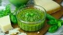 Salsa pesto casera y sin lactosa. Cómo hacer la auténtica receta italiana de pesto de albahaca