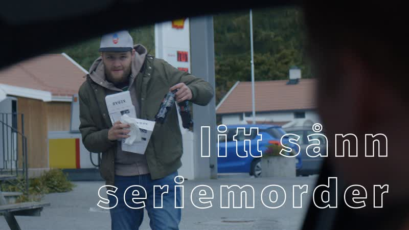 Blank NRK 3 й сезон 1 я серия 4 й отрывок litt sånn seriemorder немного похоже на серийного убийцу
