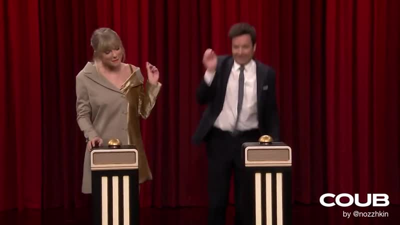 Jimmy Fallon and Taylor Swift Bad guy dance