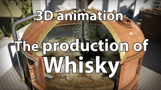 How Whisky is made - 3D animation about the production of Whisky (remake 2020)
