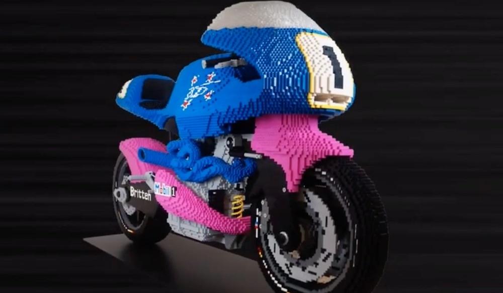 Lego Britten V1000 в реальном размере (видео)