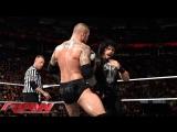Randy Orton vs Roman Reigns (WWE RAW 04.05.15). Part 2
