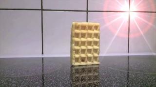 Waffle Falling Over - Directors Cut