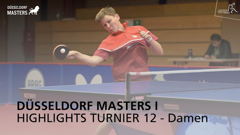 Düsseldorf Masters I Highlights Turnier 12 Damen