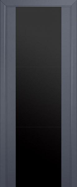Межкомнатная дверь PROFIL DOORS 8 U ( АНТРАЦИТ)