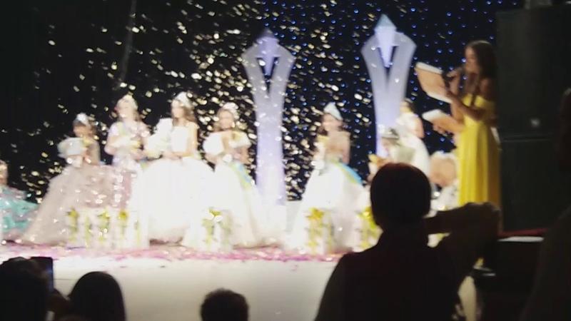 14 ий фестиваль конкурс Міні світ краси Буковини 2018