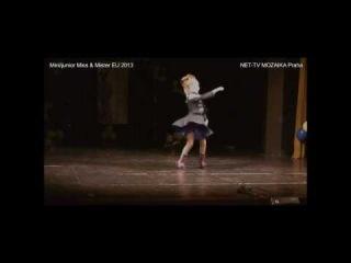 Mini/Junior Miss&Mister European Union 2013 (open): TALENT - Nina Kryvoshta