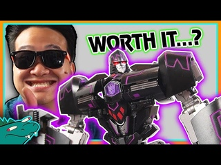This NOT Megatron Toy is over $ It   Generation Toy TYRANT GT-3 Transformers Review