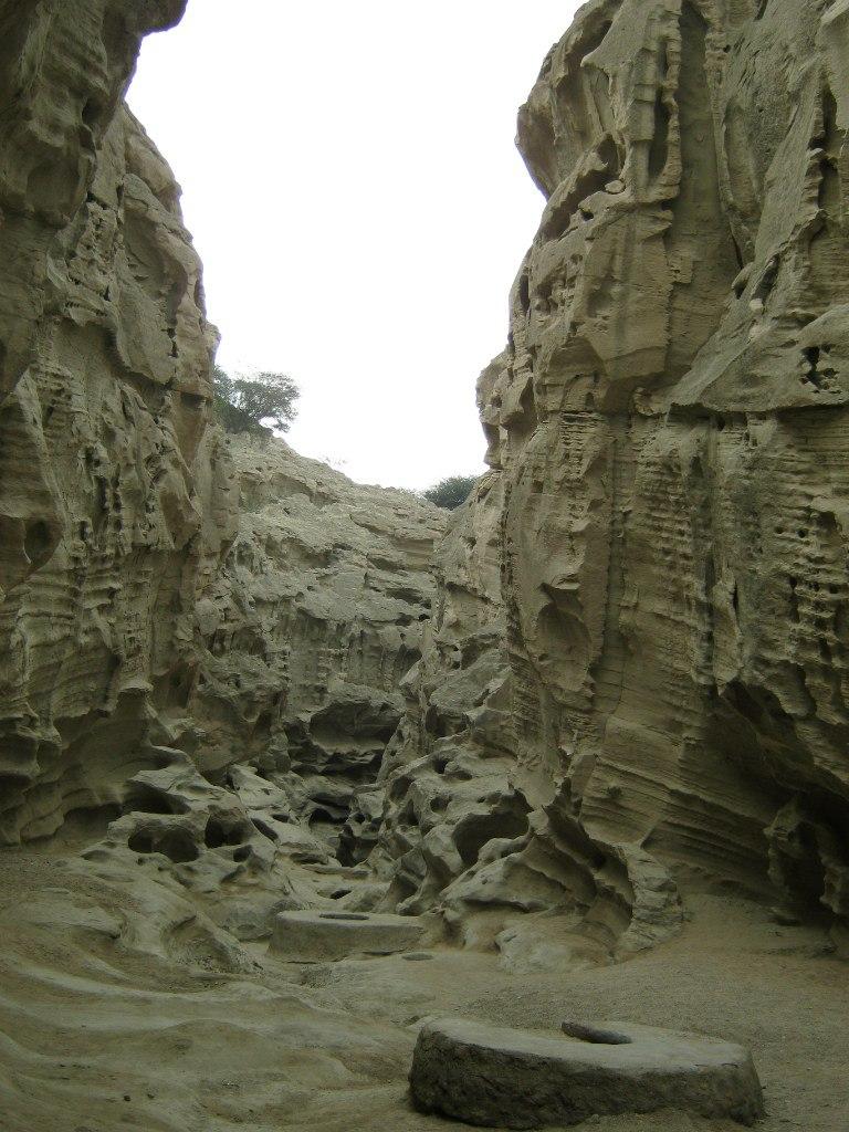 Колодцы в ущелье Танге-Чаху