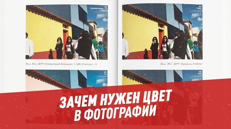 Краски жизни зачем нужен цвет в фотографии Шоу Картаева и Махарадзе