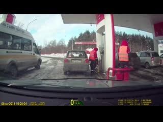 Как воруют бензин на АЗС bkmz2 rfr djhe.n ,typby yf fpc bkmz2
