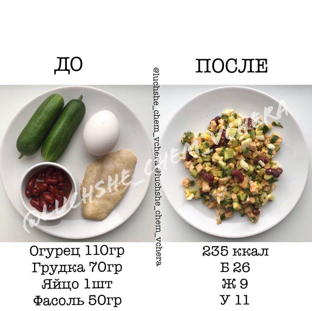Подборка салатиков на каждый день