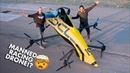 First Manned Aerobatic RACING Drone Will it FLIP 😲