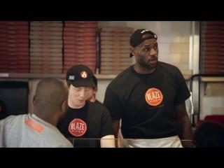 LeBron James Is Blaze Pizzas Newest Team Member