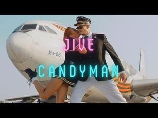 Christina Aguilera - Candyman (Jive dance)