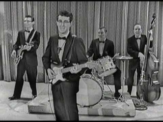 """Buddy Holly & The Crickets """"That'll Be The Day"""" on The Ed Sullivan Show"""