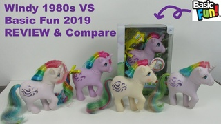 Basic Fun My Little Pony Windy VS 1980s Pony Review & Variant Compare