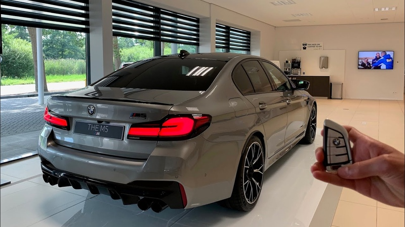 2021 BMW M5 Competition LCI STARTUP SOUND and Visual Review New 625 HP BMW M5 F90 2020 2021