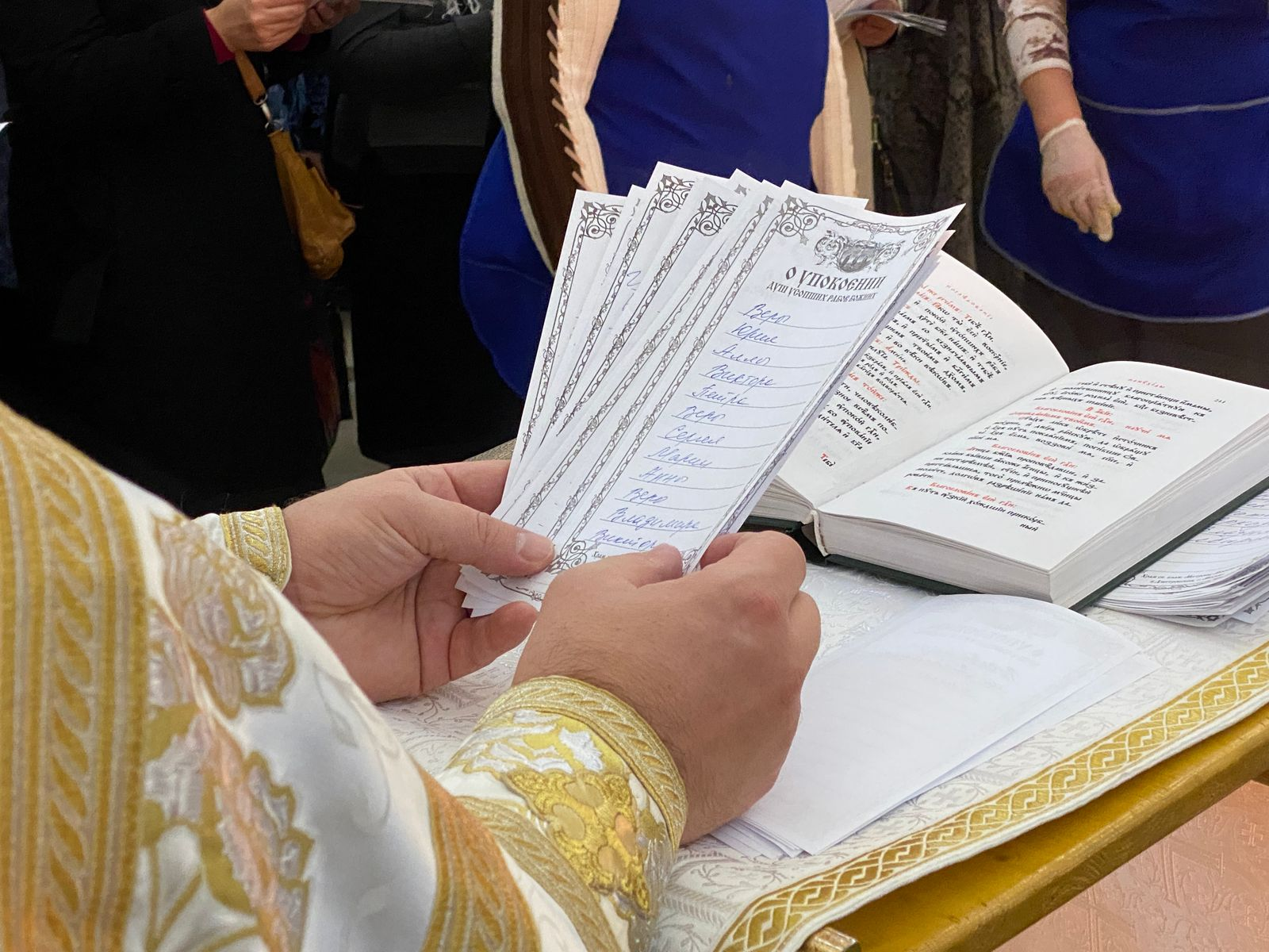 Димитриевская родительская суббота в храме блаженной Матроны Московской