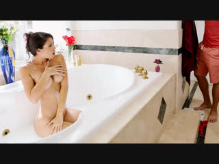 Katana kombat - make yourself free-useful [2018-12-08, brunette, milf, big tits, masturbation,cum on tits, bathroom, 1080]