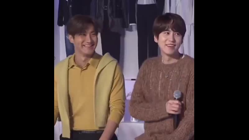Wonkyu compilation from yesterday's live