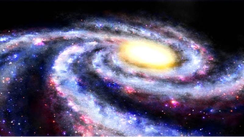 Как устроена Вселенная Гибель Млечного Пути надвигающееся столкновение с галактикой Андромеды
