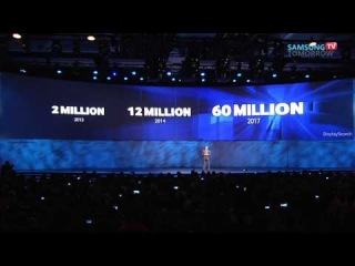 Samsung Press Conference @ CES 2014