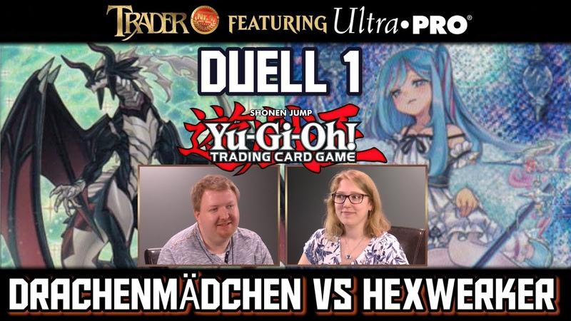 YuGiOh Duell 1 Drachenmädchen VS Hexwerker 2020 deutsch YGO TCG Trader Match Tutorial Deck Duel