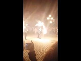 Fire show#Tula💗❤