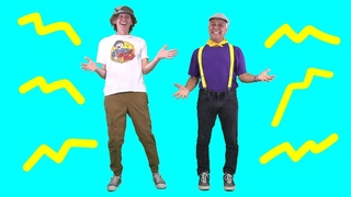 Shake it Out Body Parts Song with Matt   Featuring the Learning Station   Dance Action Song for Kids