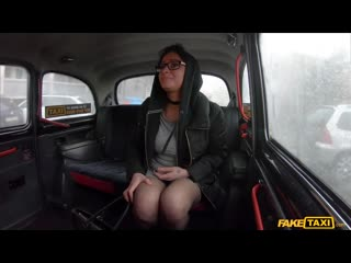 FakeTaxi Klaudia Diamond - Glasses Babe Cheats on Hubby