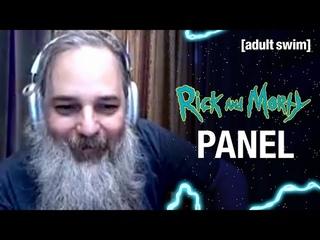 Rick and Morty Panel | adult swim