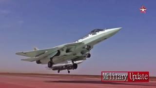 New Sukhoi Su-57  Ready for Battle  with F-22 Raptor and F-35