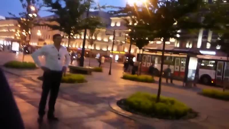 Аркадий Кобяков Марина Ибеева Ирина Тухбатова прогулка по Питеру в белые ночи 19 07 2014 Санкт Петербург