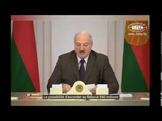 Le FMI paierait les gouvernements en échange de confinement et mesures sanitaire, selon Loukachenko