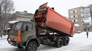 Мусоровоз КО-440-5 на шасси КамАЗ-53213 (Х 045 НЕ 22)